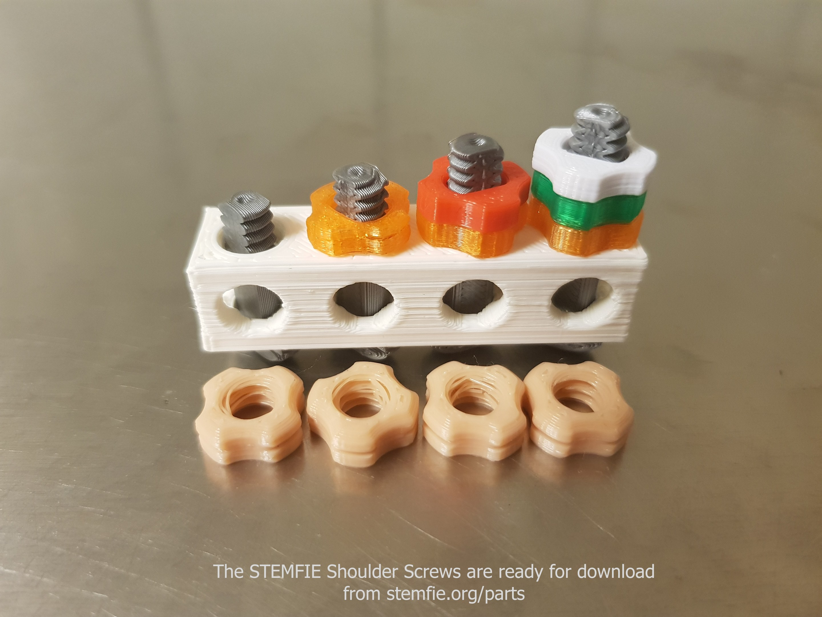 The STEMFIE Shoulder Screws are ready for download v01